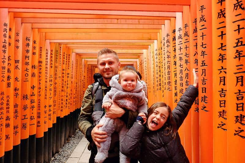 Inari Shrine Family Things to do in Japan