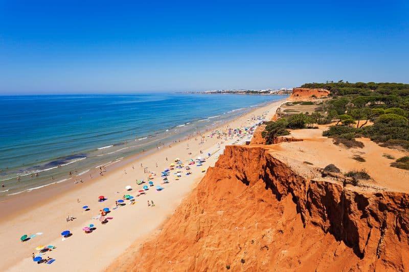 Praia de Falesia beach Portugal DP