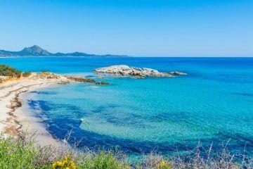 Scoglio di Peppino atCosta Rei Sardinia Italy DP