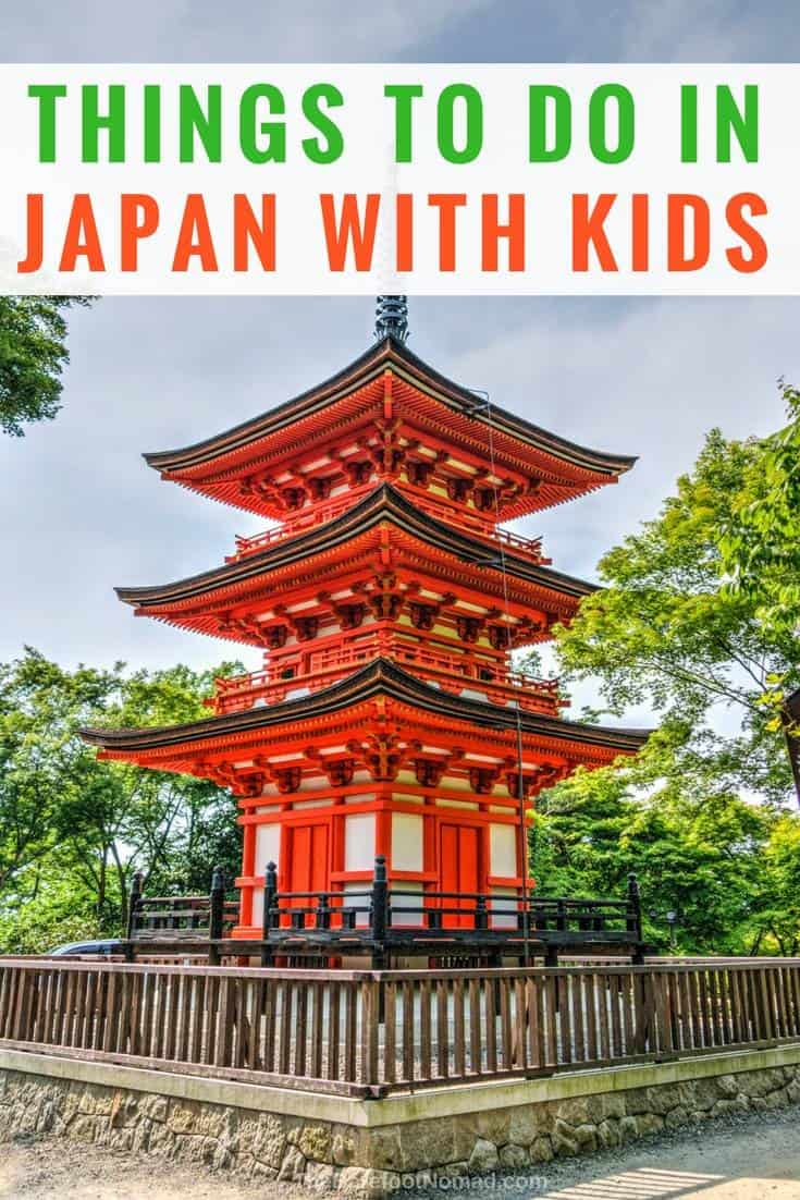 Things to do in Japan with kids