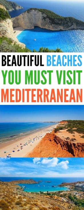 the best beaches in the Mediterranean