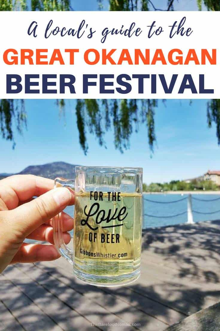 A locals guide to the Great Okanagan Beer Festival