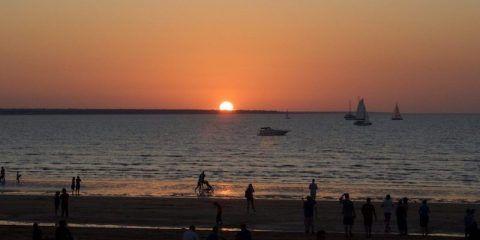Sunset at Mindel Beach Sunset Market