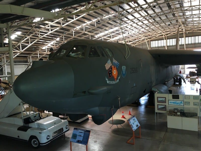 The B52 Bomber at the Darwin Aviation Heritage Centre