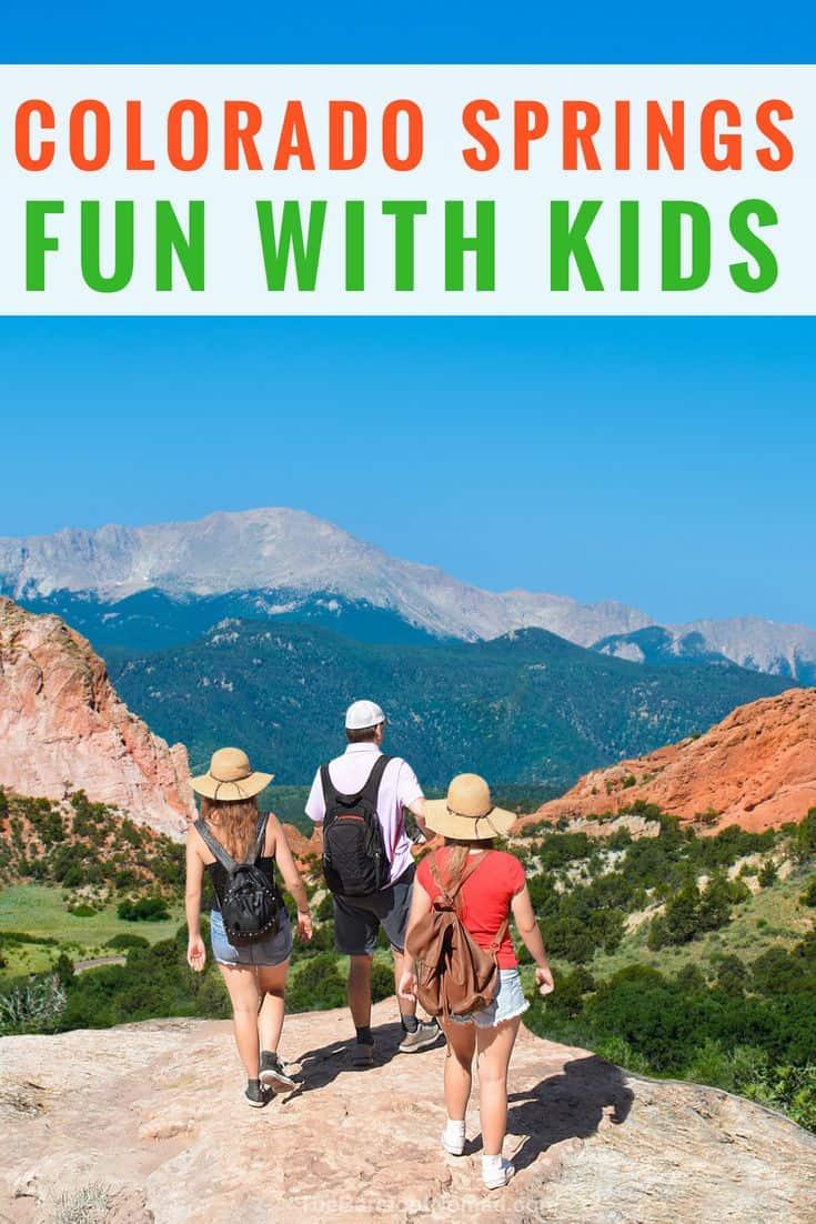 hiking with older kids in Colorado Springs