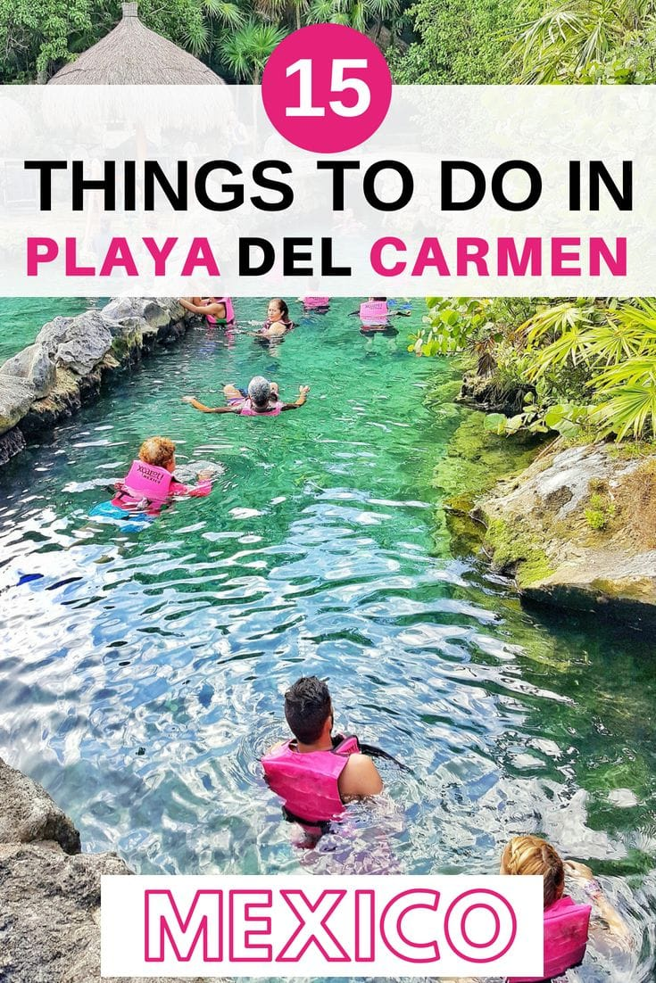 Looking for things to do in Playa del Carmen? We explore everything from the best beaches to the best adventure parks and everything in between. #mexico #travel #playadelcarmen #traveltips
