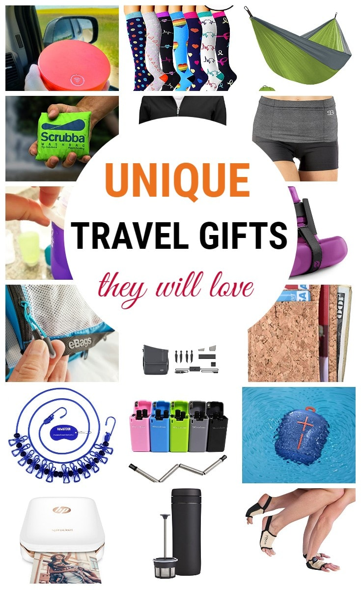 Unique travel gifts they will love