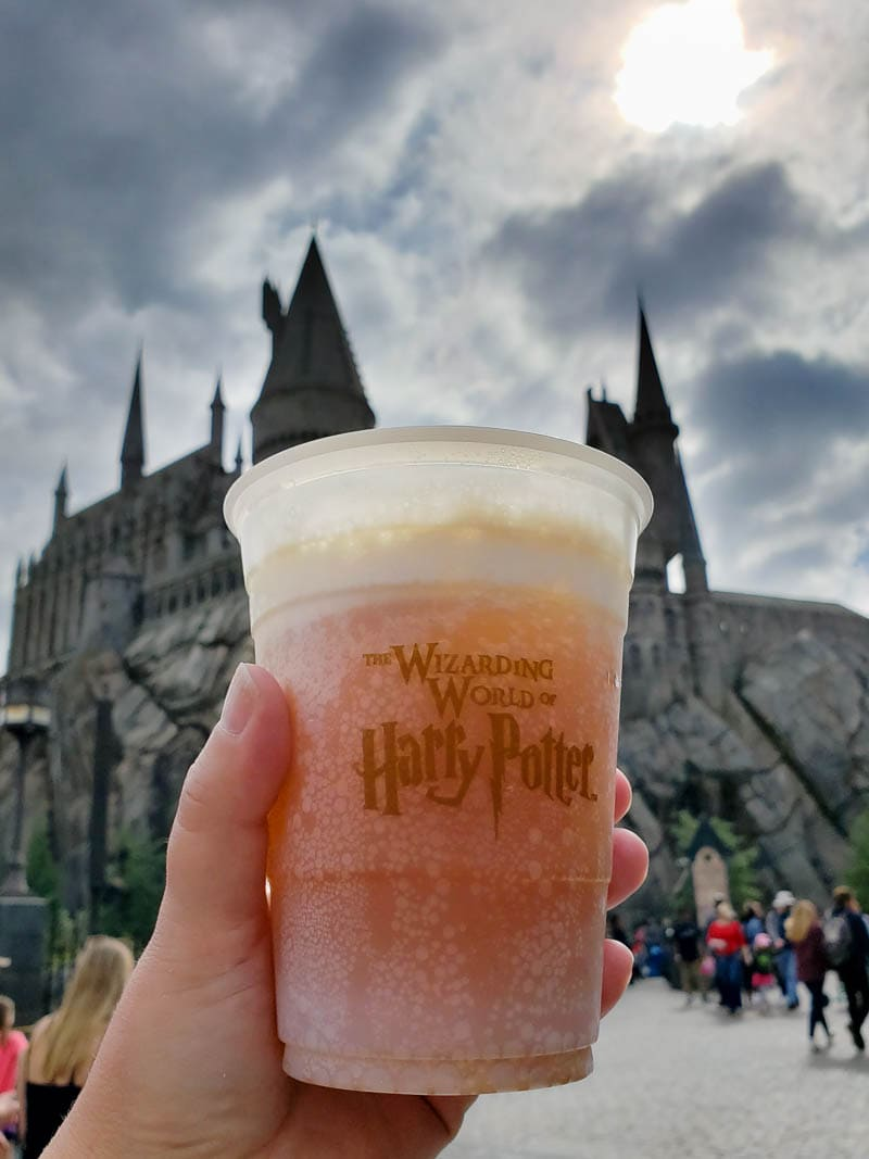 Butter beer at Universal Studios Hollywood