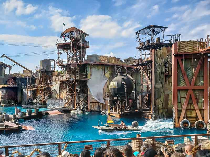 Waterworld show at Universal Studios Hollywood