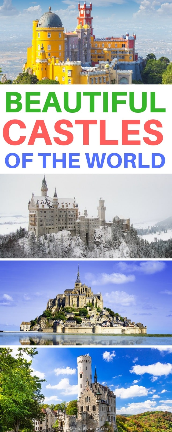 beautiful castles of the world that are real