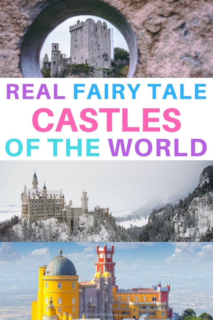 real fairy tale castles of the world the worlds most beautiful places