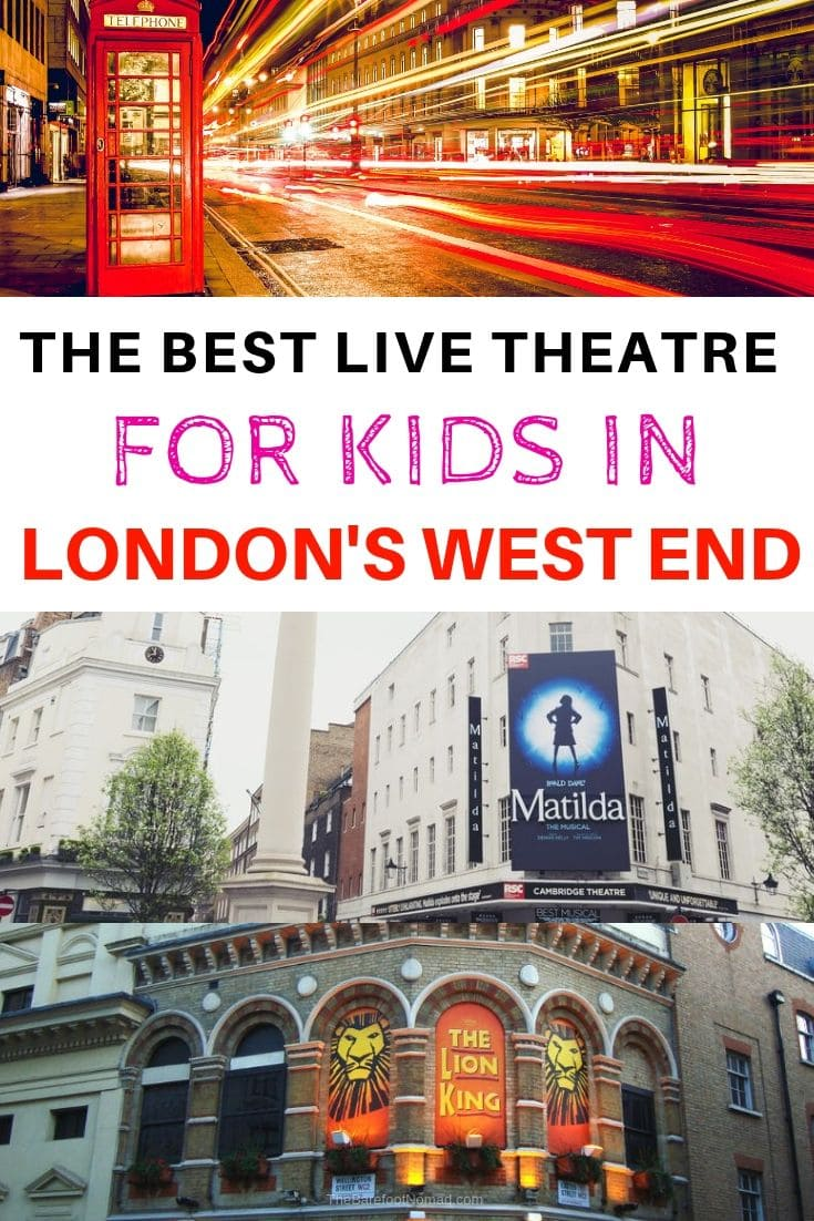 Best Live Theatre Shows for Kids in London West End