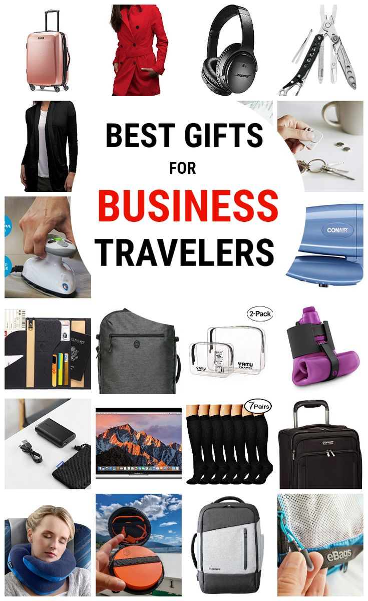 The Best Gifts for Business Travelers