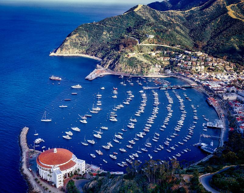 Catalina Island California on a day trip from Los Angeles