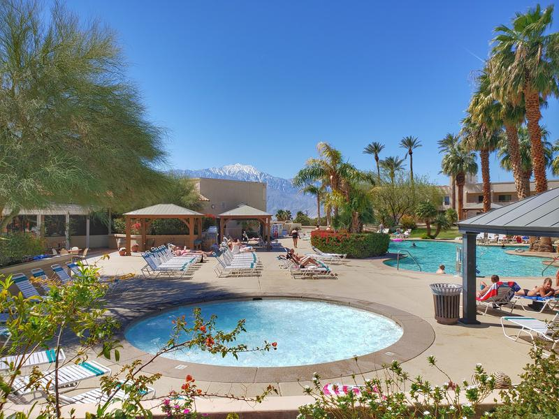 Miracle Hot Springs Resort in Desert Hot Springs a perfect weekend trip from LA