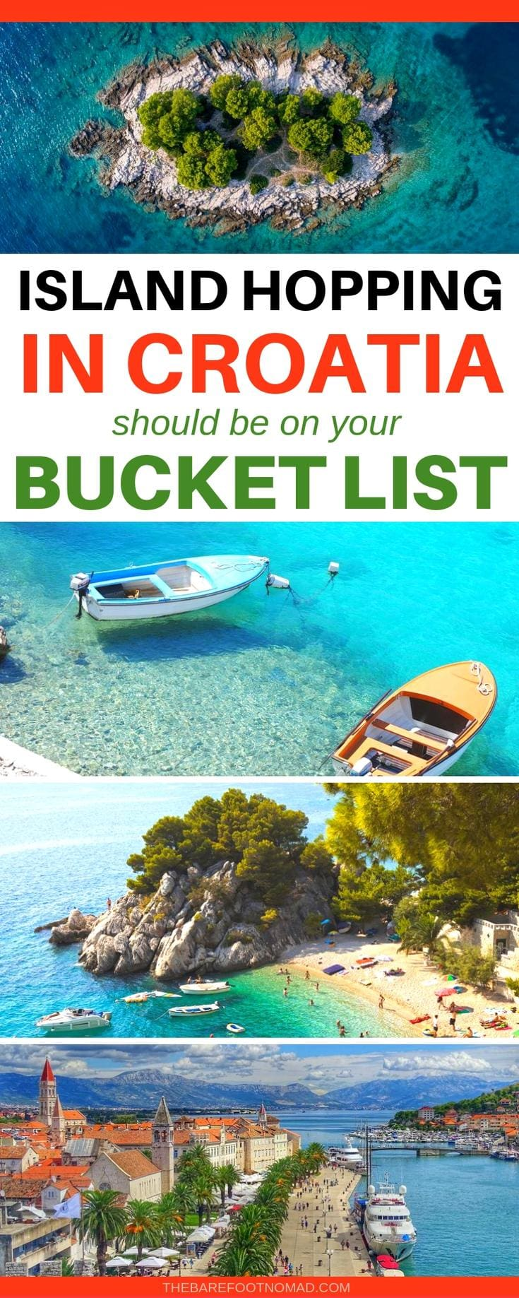 Island hopping in Croatia should be on your bucket list