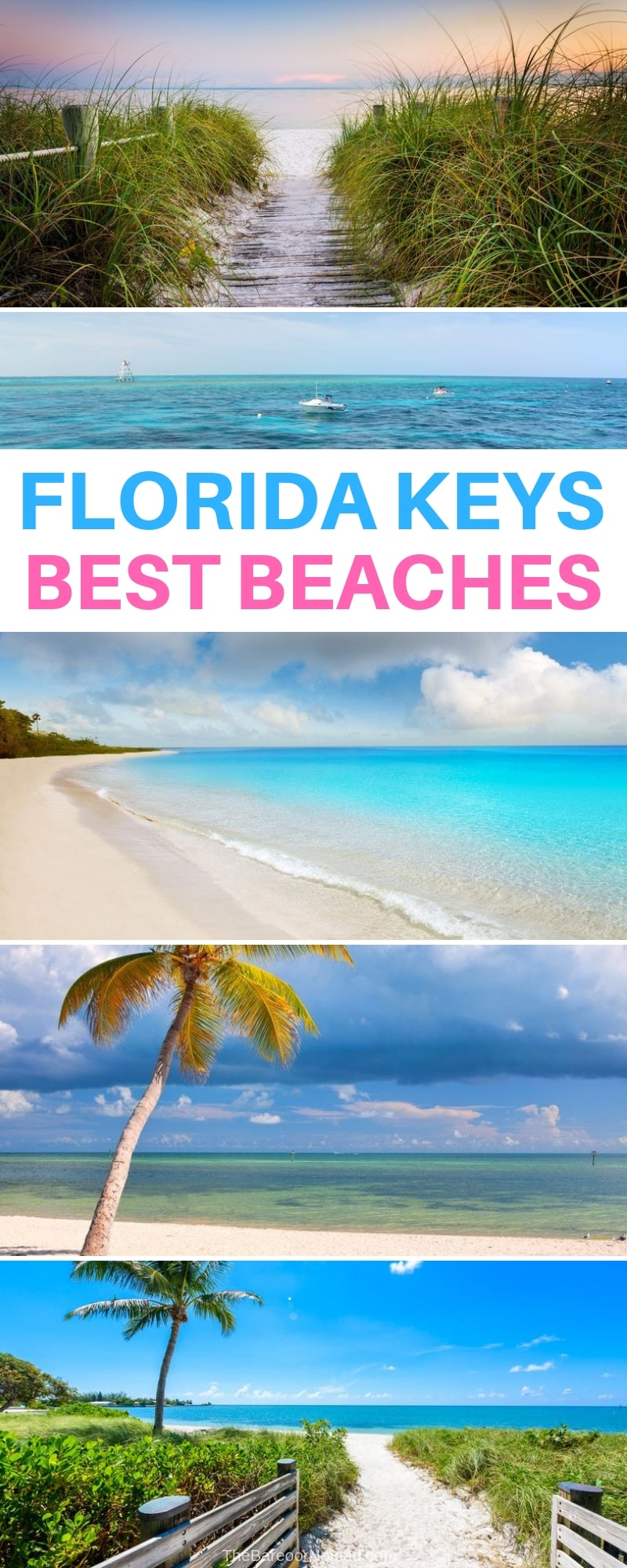 the best beaches in the Florida Keys to visit on  your next road trip