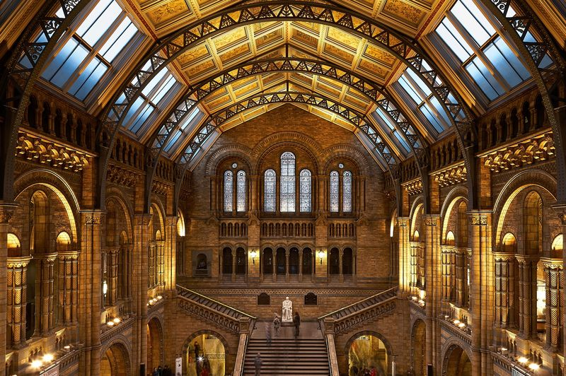 Natural History Museum in London England