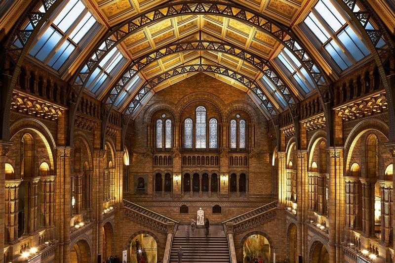Museo de Historia Natural en Londres Inglaterra