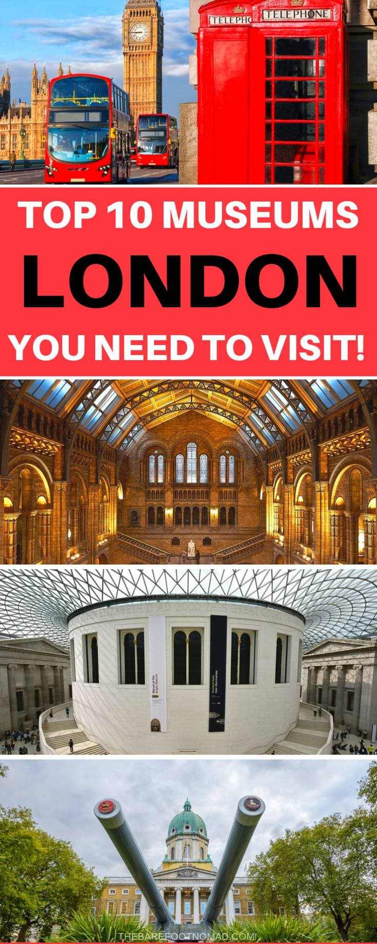 top 10 museums in London you need to visit
