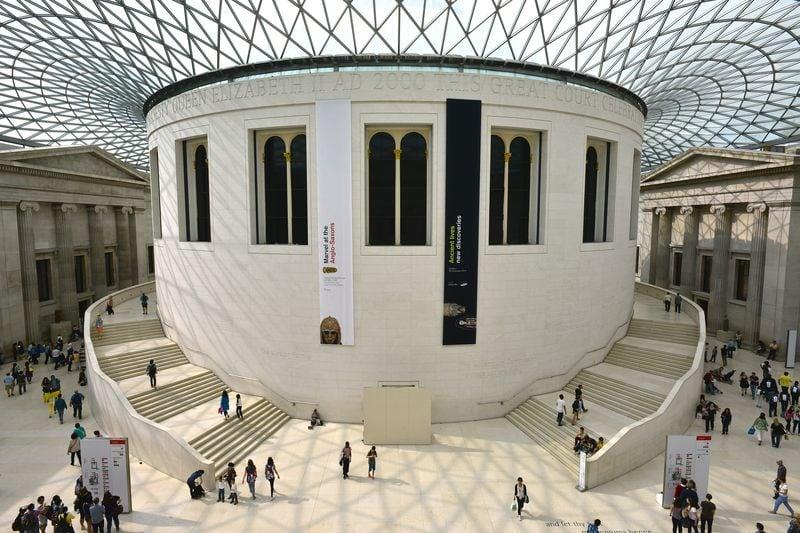 museo británico en Londres