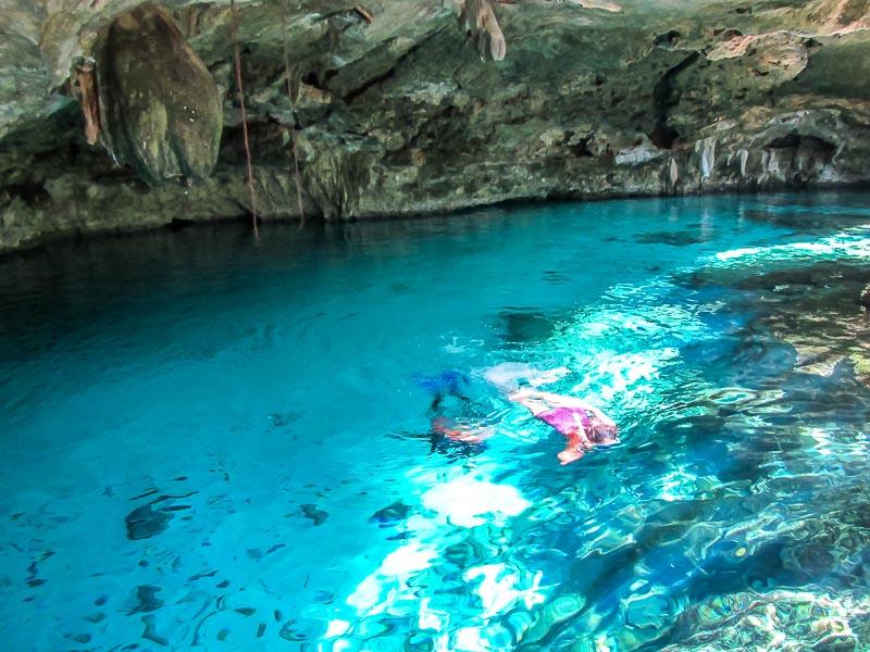 Cenote Dos Oyos by Tulum
