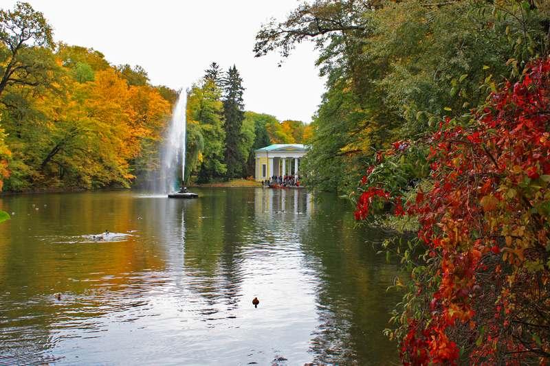 Sofiyivka park botanical garden
