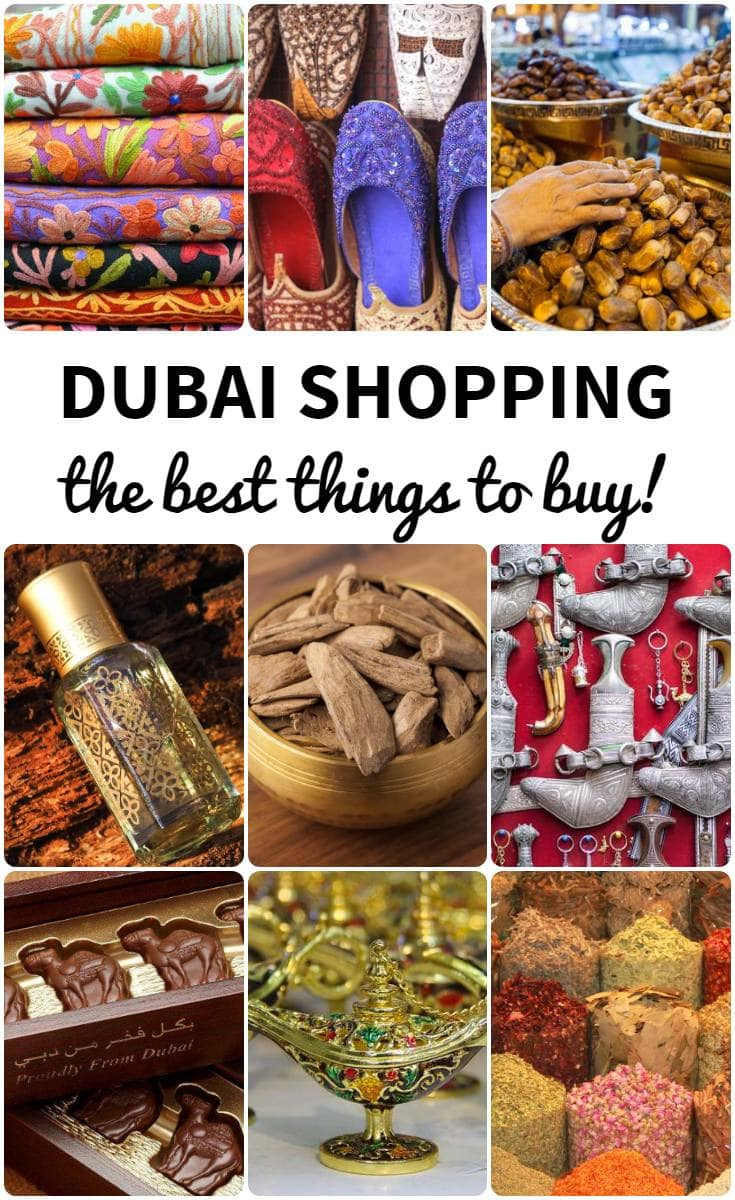Dubai shopping the best things to buy