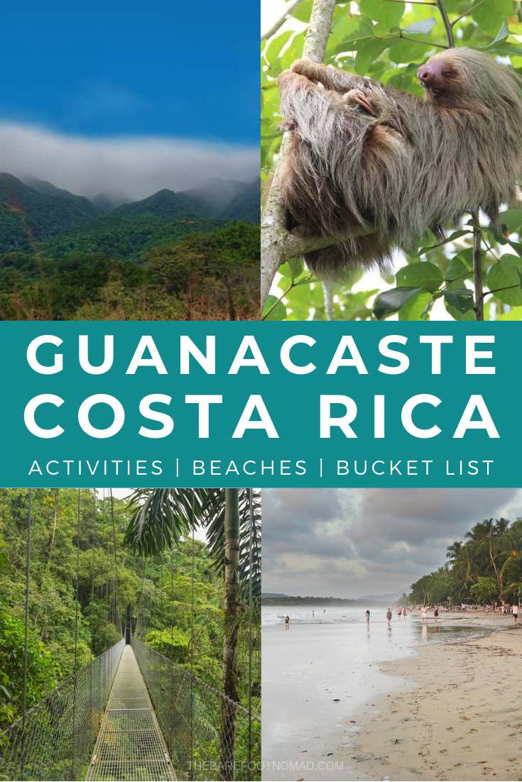 Guanacaste Costa Rica activities beaches and bucket list things to do