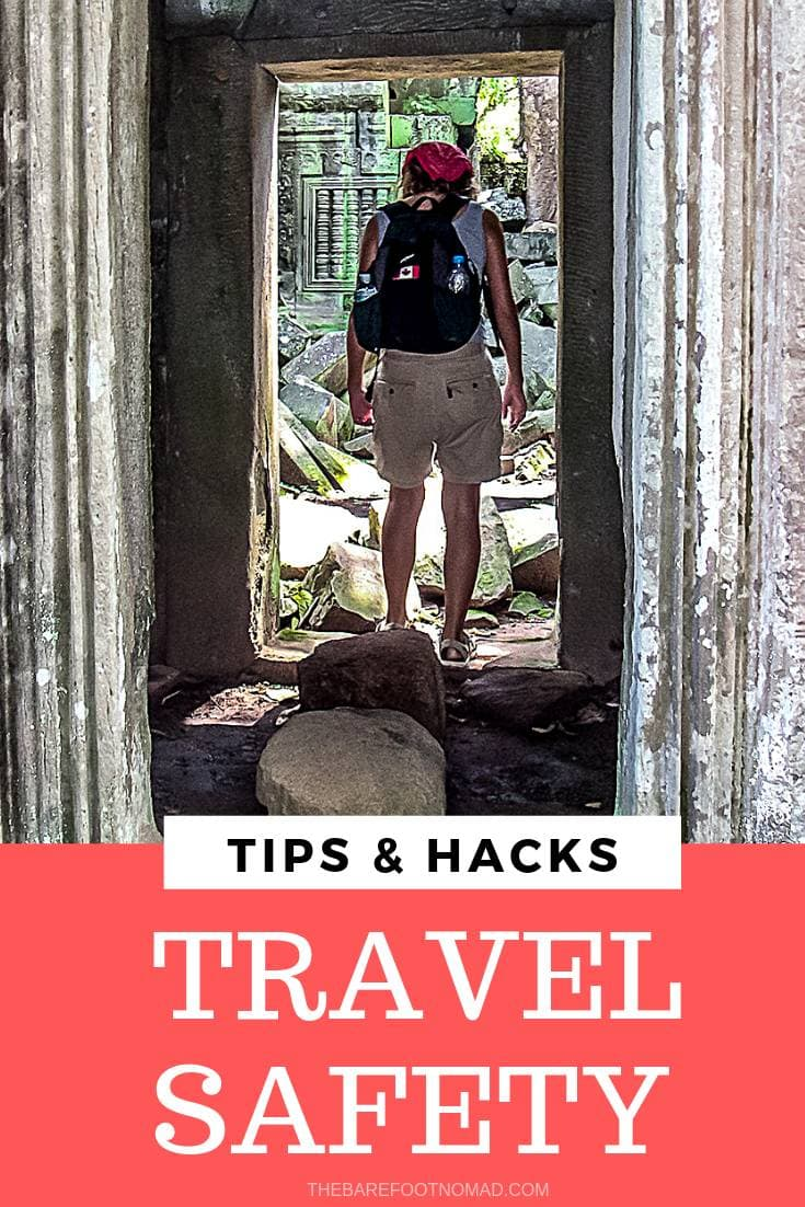 Travel safety tips and hacks