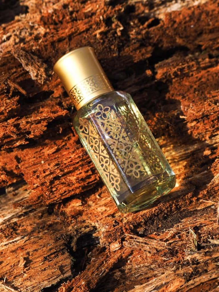 attar in mini bottle