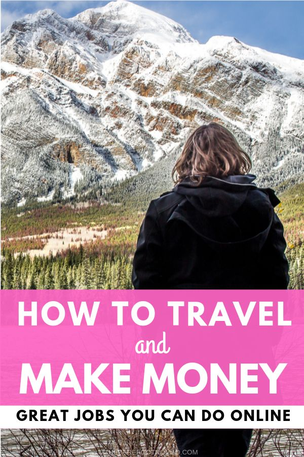 How to travel and make money online