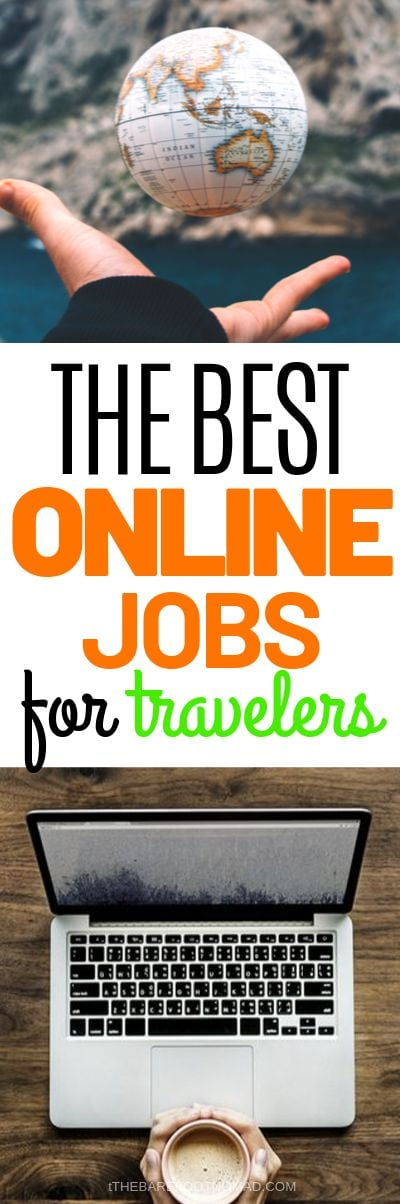 the best online jobs for travelers