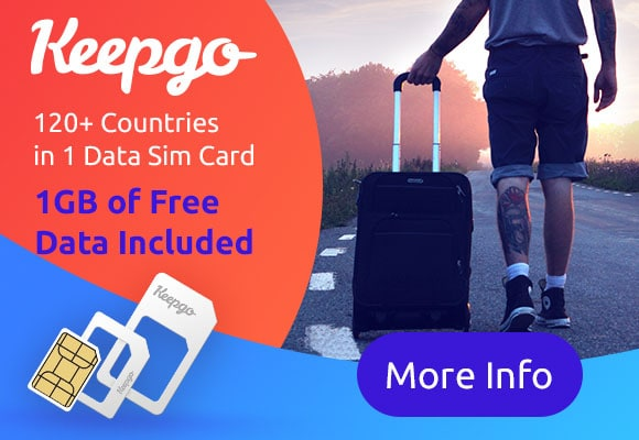 Keepgo data sim card