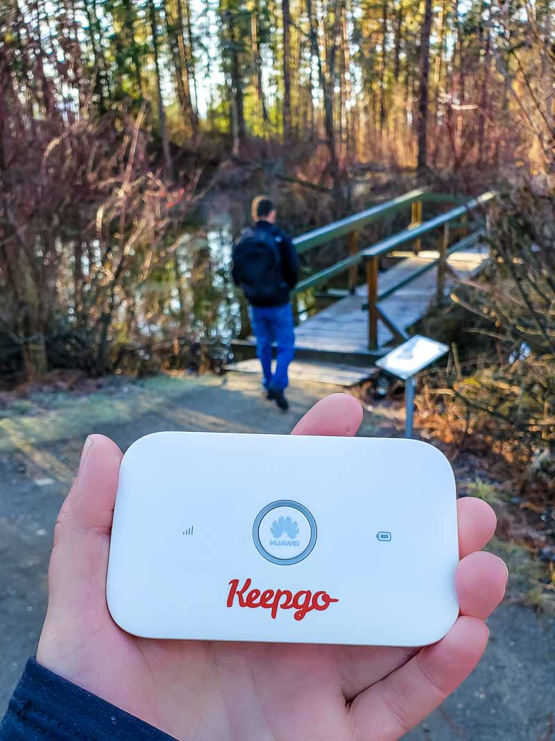 keepgo review of wifi hotspot and data sim