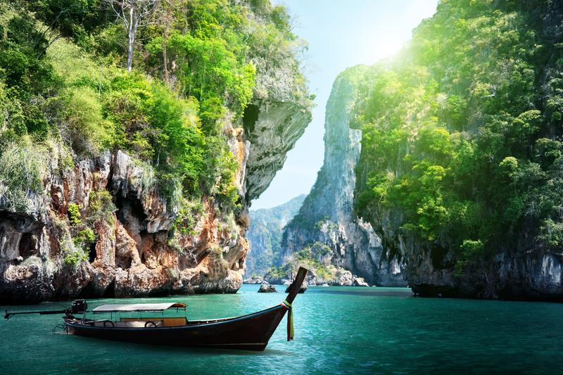 railay beach in Krabi Thailand DP