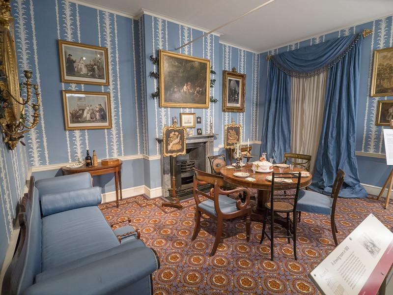 1830s period room Geffrye Museum London