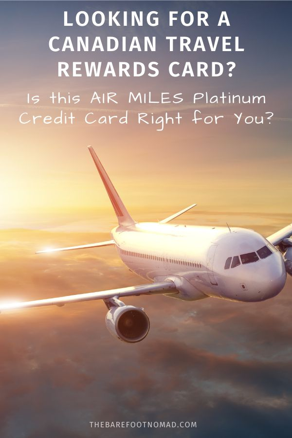 Looking for a Canadian Travel Rewards Card