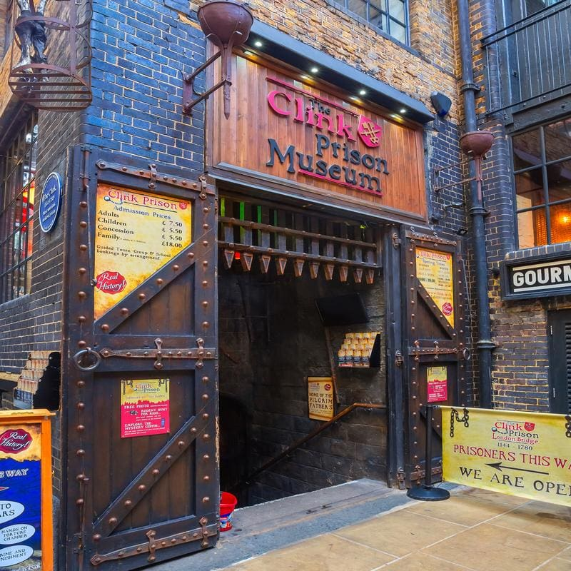 The Clink Prison Museum in London UK