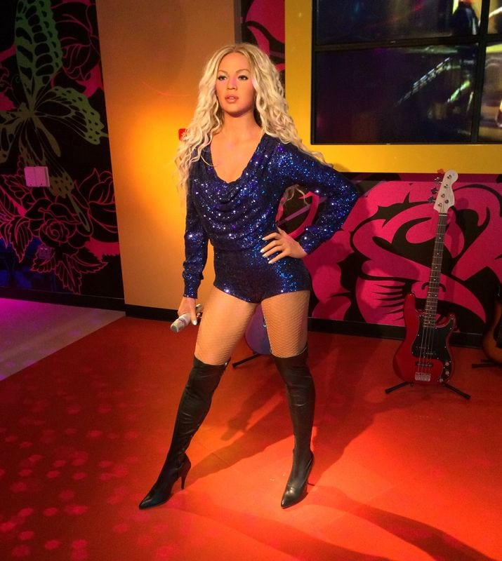 Beyonce at Madame Tussauds Orlando Icon Park fkrCC