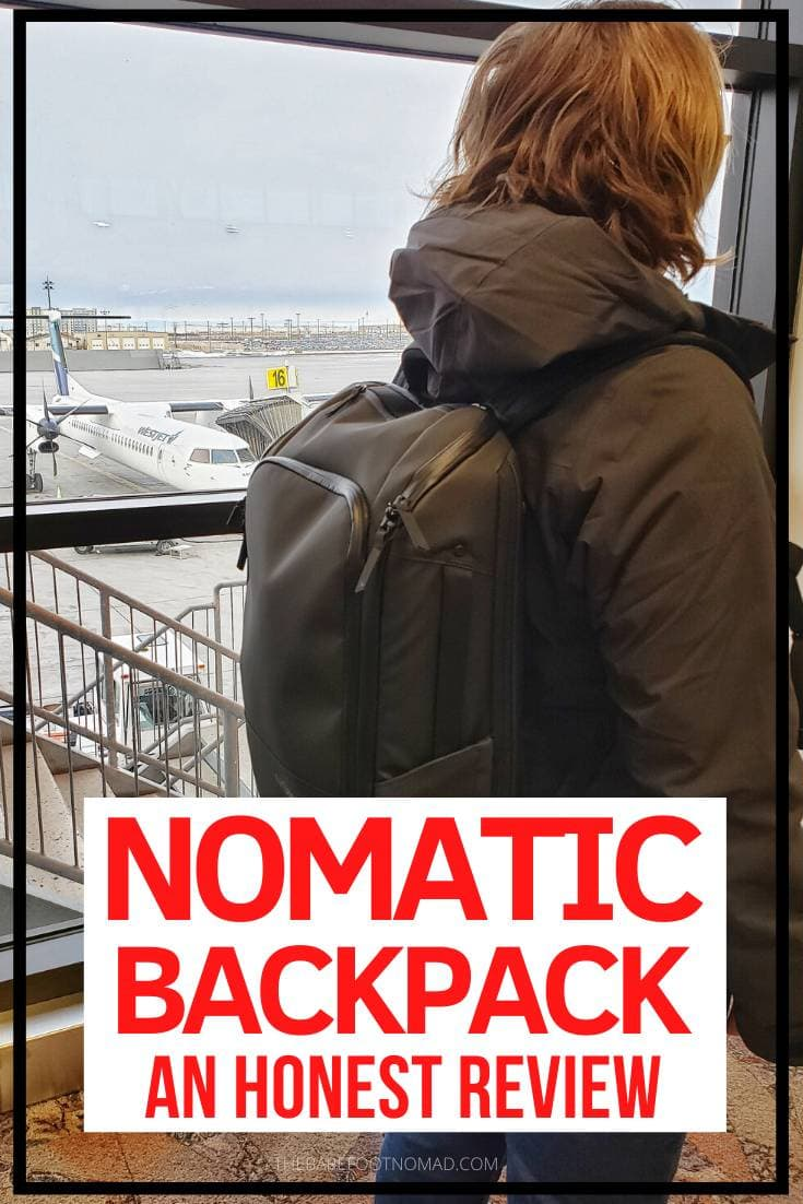 Nomatic backpack an honest review of this everyday backpack