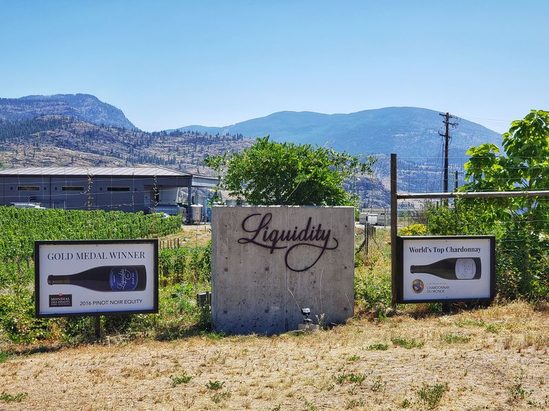 Wines for liquidity Okanagan Falls BC