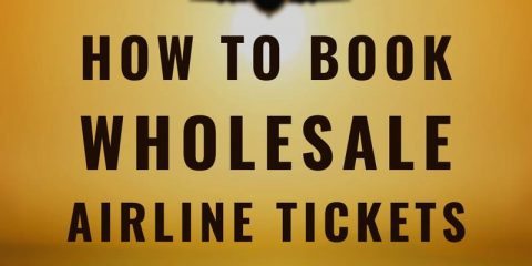 how to book wholesale airline tickets