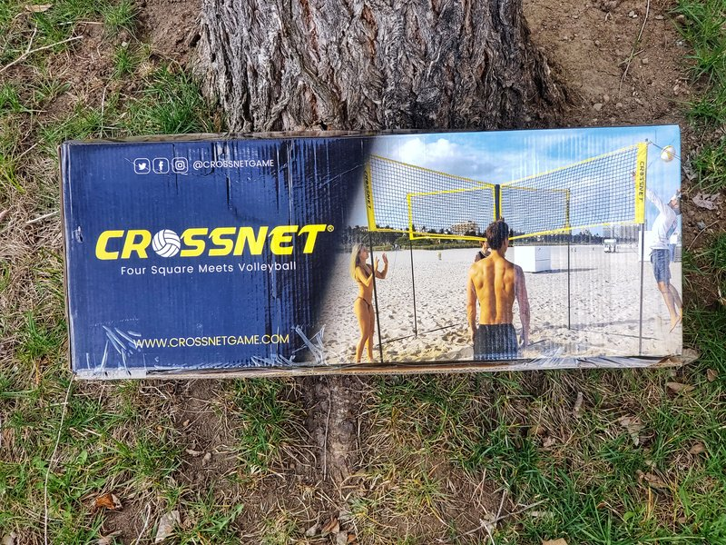 CROSSNET game in box