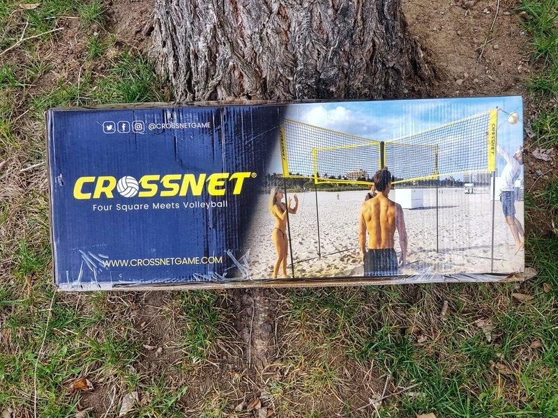 CROSSNET game in box