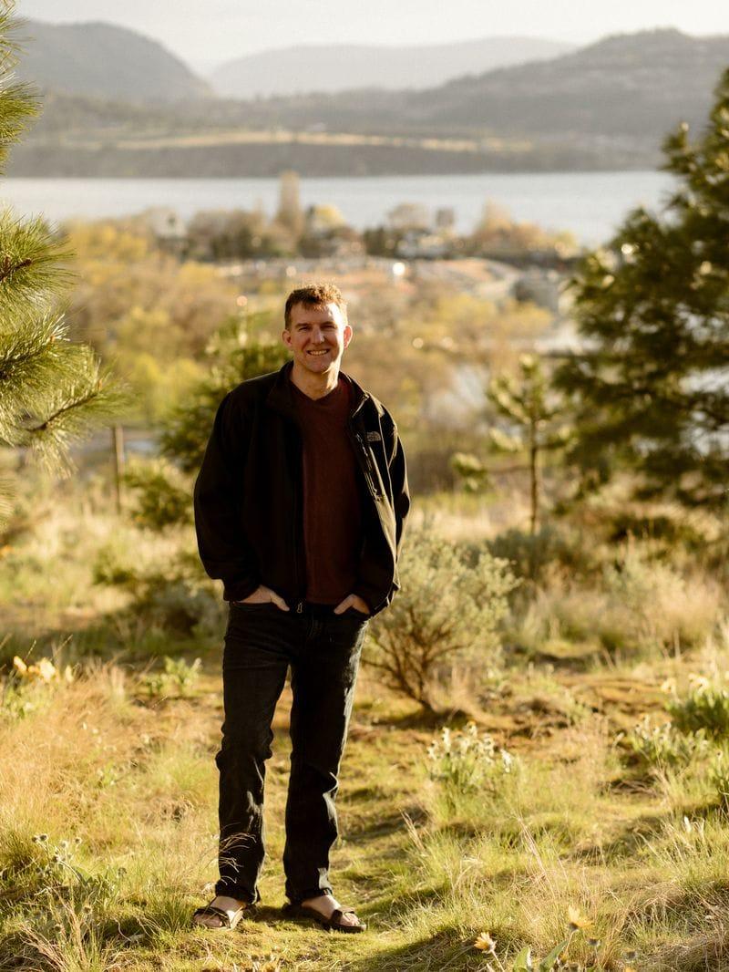 Charles Kosman in Kelowna, BC 2021 The Barefoot Nomad