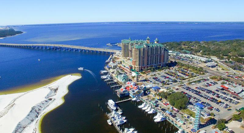 Destin Florida Arial view