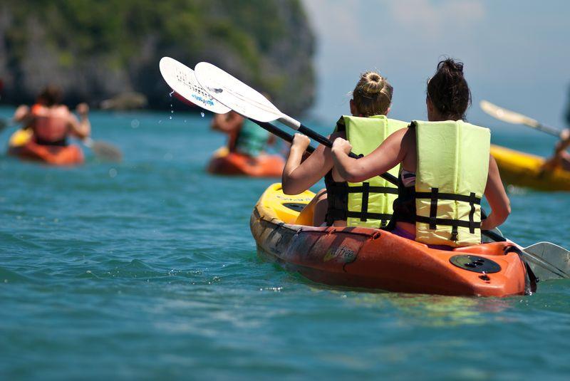 kayaking in Destin Florida