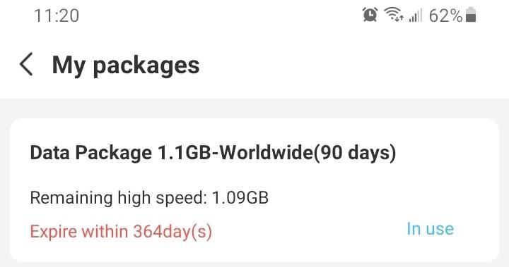 GolocalMe data package