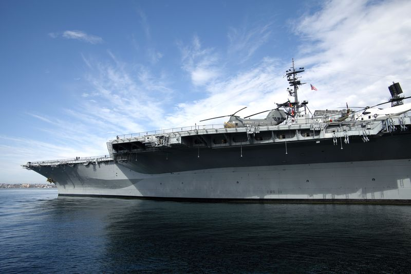 USS Midway San Diego California
